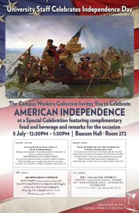 American Independence Day event